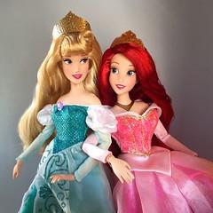 Sweet Sixteen (Richard Zimmons) Tags: ariel doll princess barbie aurora sleepingbeauty disneystore thelittlemermaid