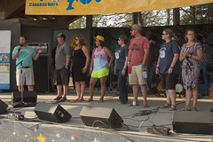 Folk On The Rocks 2016 (N'PiKS) Tags: christmas tree love kitchen rock photo team rocks photographer folk board pat july security lips beaver nancy hiphop kane volunteer miranda angela currie incredible yellowknife macneill bushed soundtech soundmixing fotr2016 gzowsky christmastreeinjuly