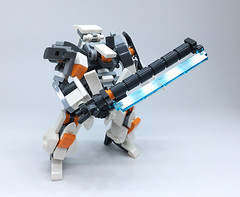 LEGO Robot Mk-4 (ToyForce 120) Tags: lego robot robots mecha mech mechanic mak sf3d weapon gundam ms legomech legomoc