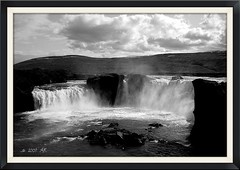 Goafoss waterfall (arnthorr) Tags: bwdreams goafoss foss watefall fall norurland norhticeland north svarthvtt blackandwhite bw sh ar arnthorr arnrragnarsson arnthor arnr ragnarsson brardalur hsavk akureyri virkjun