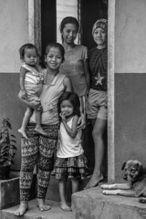 We live in the country (Stitch) Tags: family portrait province outoftown bukidnon countryfolk blackandwhite happy together mindanao philippines