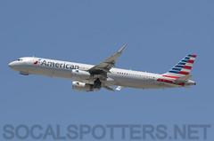 N109NN (SoCalSpotters) Tags: n109nn aal aa lax klax socalspotters americanairlines airbusa321 losangeles a321