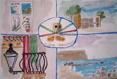 MENORCA. Serie Postales.2 (joseluisgildela) Tags: menorca alaior islasbaleares postales acuarelas draw dibujos watercolors