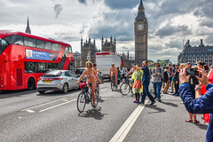 The Cycle Lane (Le monde d'aujourd'hui) Tags: cycle cyclist cyclists wnbr world naked bike ride 2016 london protest street streets londonstreet