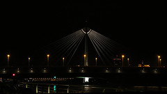 Bridge-Donaustadtbrcke in Wien (Detlef Weiss - Photography) Tags: brig bridges brcke donaubrcke nachtaufnahmen