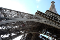 Eiffel Tower Closeup (Rad_TV) Tags: france paris eiffeltower latoureiffel