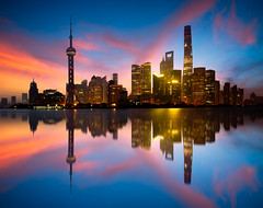 Shanghai city skyline (Patrick Foto ;)) Tags: architecture asia attraction beautiful building business central china chinese city cityscape copy district downtown dusk evening famous finance financial highrise huangpu landmark light lujiazui metropolis modern morning night office oriental panorama pearl pudong reflection river scene shanghai sky skyline skyscraper space tall tourism tower travel twilight urban view water waterfront shanghaishi cn