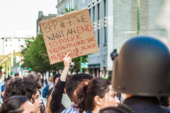 Oakland 2010 (Thomas Hawk) Tags: california eastbay johannesmersehle oakland oaklandriots oaklandriots2010 oscargrant usa unitedstates unitedstatesofamerica oaklandca070810 protest riot riots
