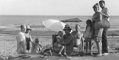 One of the first photos I ever took. Mom, Dad and my sister at right with their friends at the Anchor Beach. A crop from a 126 cartridge Verichrome Pan negative. Milford Connecticut. August 1966. (wavz13) Tags: oldphotographs oldphotos 1960sphotographs 1960sphotos oldphotography 1960sphotography vintagesnapshots oldsnapshots vintagephotographs vintagephotos vintagephotography filmphotos filmphotography vintagemilford oldmilford 1960smilford vintagewoodmont oldwoodmont 1960swoodmont 120film connecticutphotographs connecticutphotos oldconnecticutphotography oldconnecticutphotos oldconnecticut vintageconnecticut connecticutphotography vintagenewengland oldnewengland 1960snewengland vintagenewenglandphotography oldnewenglandphotography vintagenewenglandphotos oldnewenglandphotos connecticutshoreline connecticutbeaches milfordbeaches oldfamilyphotos vintagefamilyphotos oldfamilyphotography vintagefamilyphotography 126 126film squareformat instamatic verichromepan grain grainy analogphotography vintagekids vintagechildren longislandsound beaches analog vintageclothes oldclothes vintageclothing oldclothing oldbathingsuits vintagebathingsuits