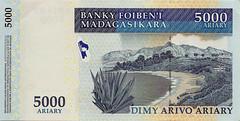 Madagascar Banknote:Dimy Arivo Ariary 5000 (Enemy8028) Tags: madagascar morondava 馬達加斯加 漁村