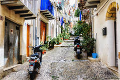 Cortile Osterio (Explore) (Kevin R Thornton) Tags: d90 nikon travel street cefalu architecture 2016 italy city sicily cefal sicilia it
