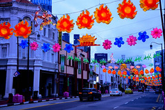 Mid Autumn Festival Street Lightup (yijin56) Tags: lanterns lantern midautumnfestival lightup street chinatown singapore mooncakefestival lanternfestival colors color colorful road streetphotography