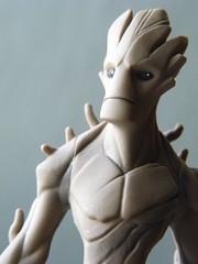 Disney Infinity figures (spikeybwoy - Chris Kemp) Tags: disney disneyinfinity macro closeup marvel marvelcomics guardiansofthegalaxy groot