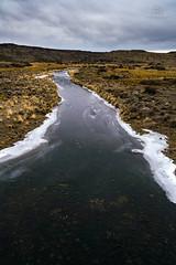Rio Ecker congelado