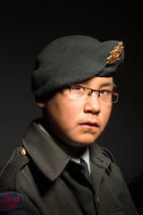 Cpl. Kines (Clare Kines Photography) Tags: arctic uniform portrait arcticbay north cadets canada family paulcbuffeinstein travis nunavut