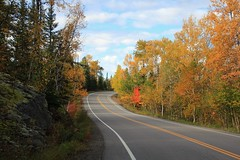 Roads Less Traveled . . . . (doc030395) Tags: minnesota ely highway1 remote wildlife solitude october peace quiet