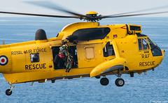 RAF WS61 Sea King HAR3 XZ588 D Flight, 202 Squadron; RAF Lossiemouth, Moray, Scotland (Michael Leek Photography) Tags: ws61 seaking seakinghelicopter heicopter sar searchandrescue moray morayfirth lowlevel lowflying aircraft michaelleek michaelleekphotography transport flight aeroplane hover raf raflossiemouth scottishaviation rafrescue