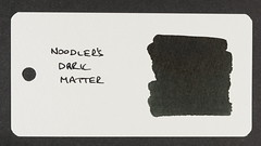 Noodler's Dark Matter - Word Card