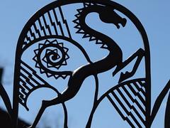 In Flight (nimbus55) Tags: school sculpture art architecture garden michigan bloomfieldhills cranbrookschool cranbrookartacademy bloomfile