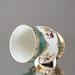 Kaiserliche Porzellanmanufaktur Wien, Krug, Bierkrug, Bierhumpen, Humpen, grüne geschuppt, Schuppen, Blumen, Gold, Henkelbecher, Expot, Türkei, Osmanisches Reich