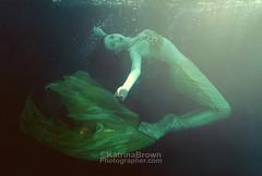 Underwater Mermaid 01 (tobkatrina) Tags: ocean woman lake water girl fashion lady female pretty underwater under young floating fantasy mysterious suspended mermaid buoyant