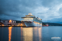 Azura (Aviation & Maritime) Tags: cruise norway twilight po cruiseship bergen azura pocruises