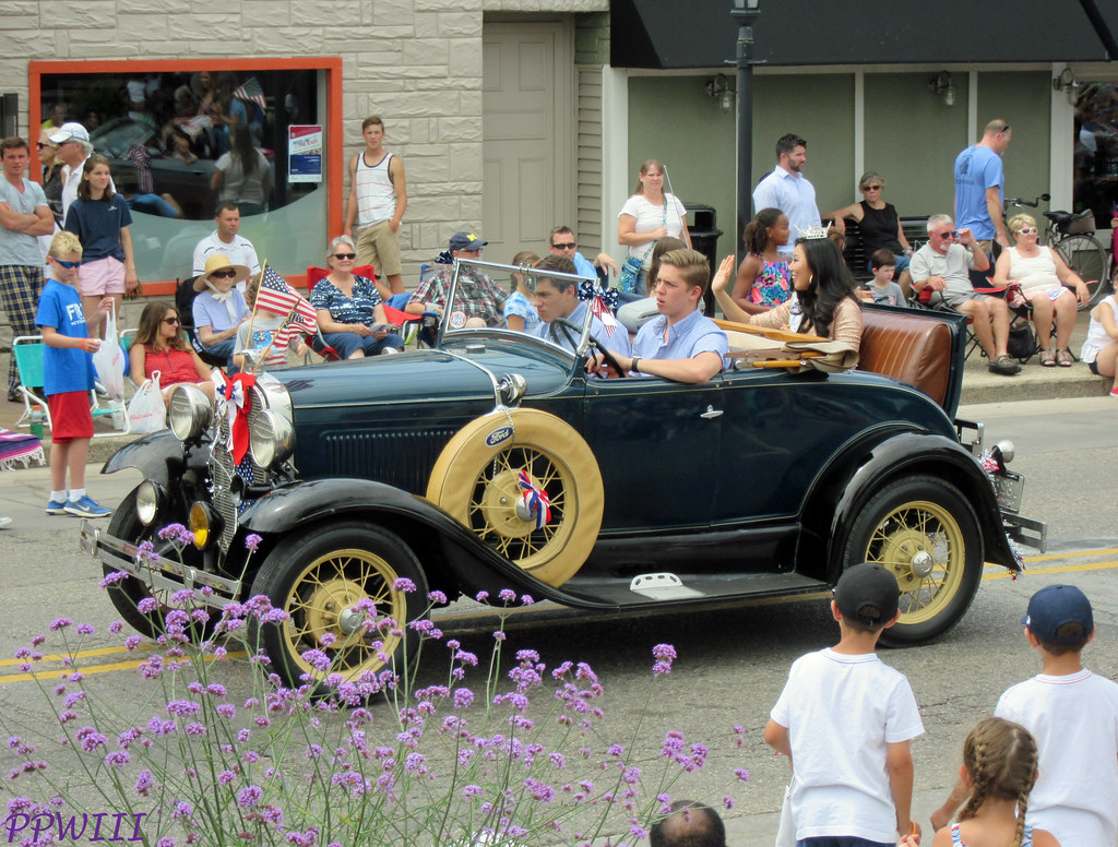 Image result for rumble seat in a parade