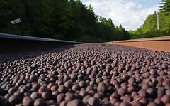 Hematite Marbles (Missabe Road) Tags: lsi iron ore pelletseagle mills junction
