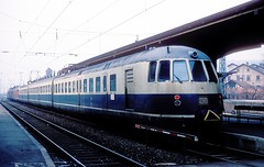 456 106 + 107  Mosbach  19.02.84 (w. + h. brutzer) Tags: analog train germany deutschland nikon eisenbahn railway zug trains db 456 mosbach eisenbahnen triebwagen triebzug et56 triebzge webru