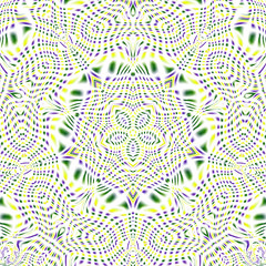 Yellow, Green, and Purple Kaleidoscope (Kaleiope Studio) Tags: kaleidoscope abstract symmetrical symmetry