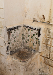 H2O (Sylviane Moss) Tags: water fountain algeria eau h2o tap casbah fontaine algrie algiers kasbah alger