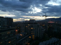 IMG_2528 (Sweet One) Tags: sunset dusk vancouver bc britishcolumbia canada myapartment view rooftop
