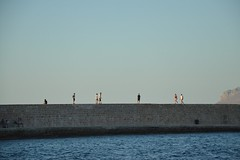 Chania (Nick Tsenteme) Tags: chania greece oldbuilding oldhouse oldcity venetian castle port