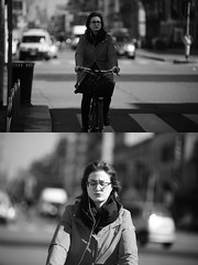 [La Mia Citt][Pedala] (Urca) Tags: milano italia 2016 bicicletta pedalare ciclista ritrattostradale portrait dittico bike bicycle biancoenero blackandwhite bn bw 872161