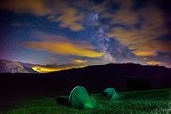 Camping under the Stars (JTrojer) Tags: night stars bayern bavaria tent nightwalk milkyway karwendel trojer geroldsee wagenbrchsee jtrojercom