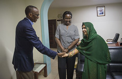 Visit of Malala Yousafzai, Nobel Peace Prize Laureate | Kigali, 13 July 2016 (Jeannette Kagame) Tags: firstladymrskagame jeannette kagame imbuto foundation malala yousafzai nobel peace prize laureate un global education advocate girlseducation