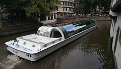Batorama (asmoth360) Tags: strasbourg petitefrance bateaumouche batorama canal ill ville fleurs maisons colombages bateau