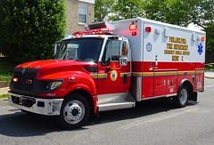 PFD Medic 2 (Aaron Mott) Tags: philadelphiafire pfd philadelphia philly phillyfire phiadelphiafire philadelphiafirefiretruck pfdfiretruck firetruckpfd firetruck fire firedept firedepartment fireapparatus international horton ambulance medic ems