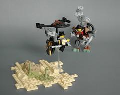 Steampunk microsuit 8 (adde51) Tags: flying desert lego machine steam walker mecha mech steampunk moc adde51 microsuits