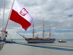 Amerigo Vespucci en Lisboa (Miguelngel) Tags: americovespucio tallship velero buqueescuela italia lisboa portugal sail vela