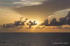 Caribbean Sunset 2016 (strjustin) Tags: sunset beautiful clouds canon landscape caribbean 1855mm 60d canon60d