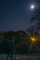 Abriendo portales (Volvtil) Tags: outdoor telescope skynight cajondelmaipo