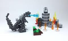 LEGO GODZILLA_03 (ToyForce LEGO Mecha) Tags: lego robot robots mecha mech mechanic legomech legomoc godzilla