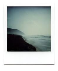 (~ Nando ~) Tags: polaroid sx70 theimpossibleproject instantfilm printscan epsonv700 vuescan analog analogue slr singlelensreflex square squareformat landscape seascape sea ocean coast water