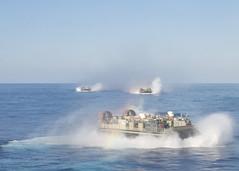 160722-N-TO519-166 (CNE CNA C6F) Tags: amphibiousreadygroup lcac lhd1 sailors training usnavy usswasp wasparg amphibiousassaultship landingcraft aircushion mediterraneansea