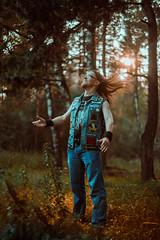 IMG_4918 (rodinaat) Tags: longhair longhairman longhairedman longhaired beard bearded metal metalhead powermetal trashmetal guitar musican guitarplayer brutal forest summer sun