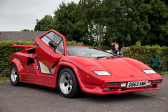 Countach Kit Car (torquayadam) Tags: canon 5d mark ii mk2 castle combe bristol motor club 24 july 2016 countach kit car red