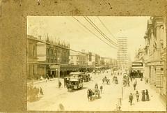 HP0293 (City of Adelaide) Tags: adelaide cityofadelaide heritage kingwilliamstreet beehivecornerbuilding beehivecorner townacre46 horsedrawntrams horses