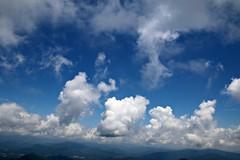 Clouds off of Brasstown Bald (Bella Lisa) Tags: brasstownbald georgia mountain view blueridgemountains clouds vista panorama helengeorgia richardbrussellscenichighway