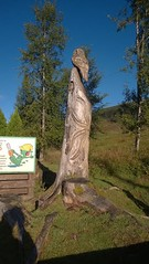 West Highland Way Tyndrum to Bridge of Orchy (JimGer947) Tags: west highland way tyndrum bridge orchy wood carving chainsaw